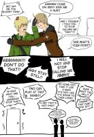 alfred wants hug in and out by bleachedhalo