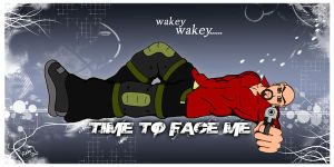 Wakey Wakey....Face me by Adder24
