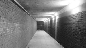Tunnel to the Clubs by Aderes-Devorah