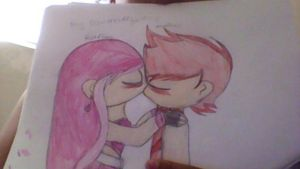 Pink Flame And Red Flame by powerpuffgirl555