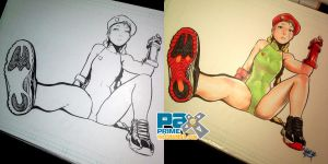 PAX2014 - Cammy wearing Jordan XI's by theCHAMBA