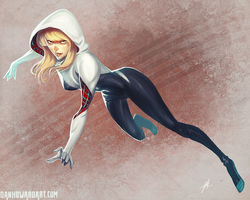 SpiderGwen by DanHowardArt