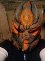 Turian head 100 percent complete by Safyras