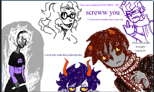 Karkat's scarf by BARD-Of-RAGE96