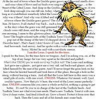 the lorax by slithytoves