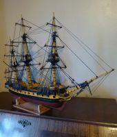 Model Frigate, nearly finished by dashinvaine