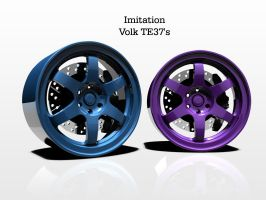 Imitation Volk TE37 Colored by ragingpixels