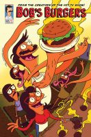 Bobs Burgers Comic Book Cover A P by Devinator200