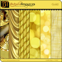 Gold Photoshop patterns by BuburuResources