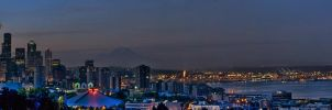 Kerry Park AM Panorama by UrbanRural-Photo