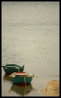 Boats by the lake by ZeeGraphix