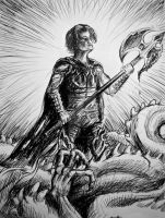 Triumph of the Slayer by DragonBlaid