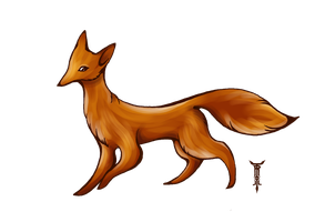 Foxdoodle by TrollGirl