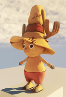 Chopper Mage - Angle 1 - UDK by Amir-NoNameMan