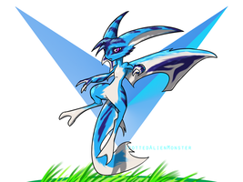 Aerial Fairy by SpottedAlienMonster