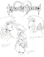 Kingdom hearts by Kyouko-Takara