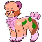 peach bear adopt open by pinestein
