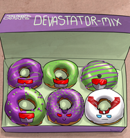 A box of donuts by VolverseLoco