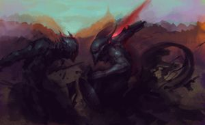 Hell WIP by Viviphyd