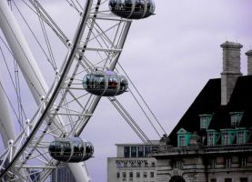 London Eye by minefreedom