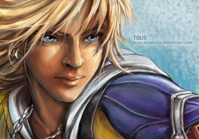 Final Fantasy X - Tidus (Repaint) by KejaBlank