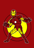 iron man movie suit by AlanSchell
