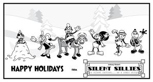 Silent Sillies - Happy Holidays by JK-Antwon