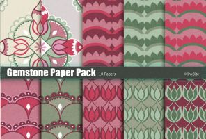 Gemstone Paper Pack by naga-pree