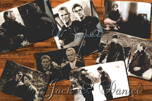 Jack and Daniel Old Snapshots by riverfox1
