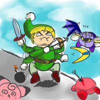 toon link players be like by UltimateGalaxia