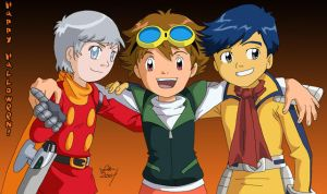 Happy Tamers Halloween '04 by digistardbz