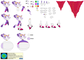 Character Builder-Blaze The Cat by Kphoria