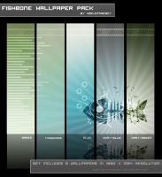 Fishbone Wallpaper 5Pack by Void-Intricacy