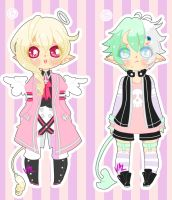 Angel and Demon Adopts [AUCTION] (CLOSED) by lifeforce10