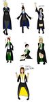 Pottermore Students by samonsterX
