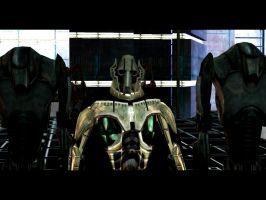 General Grievous and guards by Madilloman