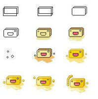 How I made Butter Emoticon by Entomologia