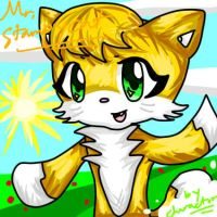 I drew Stampycat! by charactor