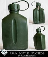 Army Bottle (Closed) by KarvinenStock