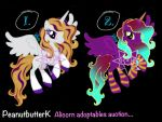 ~Alicorn adoptables auction~ [CLOSED] by PeanutbutterK