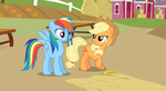 Playing Horseshoe Toss by PieIsAwesome3123