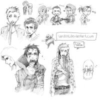 L4D Sketches by Sardiini