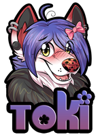 Toki Badge by AlexDachshund