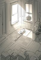 First rays in the new place by PascalCampion