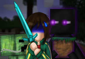 Minecraft - Dont turn around.. by Diyaru4500