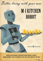 Kitchen robot by NiennaPixiesdance