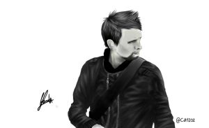 Matthew James Bellamy by CDT1202