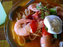 Prawn Noodle by plainordinary1