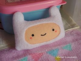 TUTORIAL: Adventure Time Finn plushie brooch by VioletLunchell