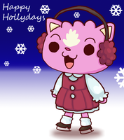 Christmas for Pinky by to-much-a-thing